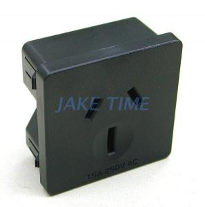 1U Size 45Mm*45Mm 15A Australia Outlet Socket