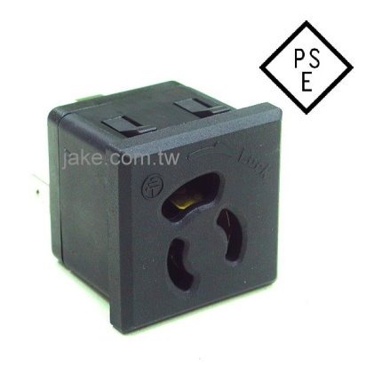 5-15R Locking Receptacle (JIS C 8303)