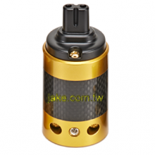 24K Gold-plated Audio Grade AC Power IEC C7R Receptacle